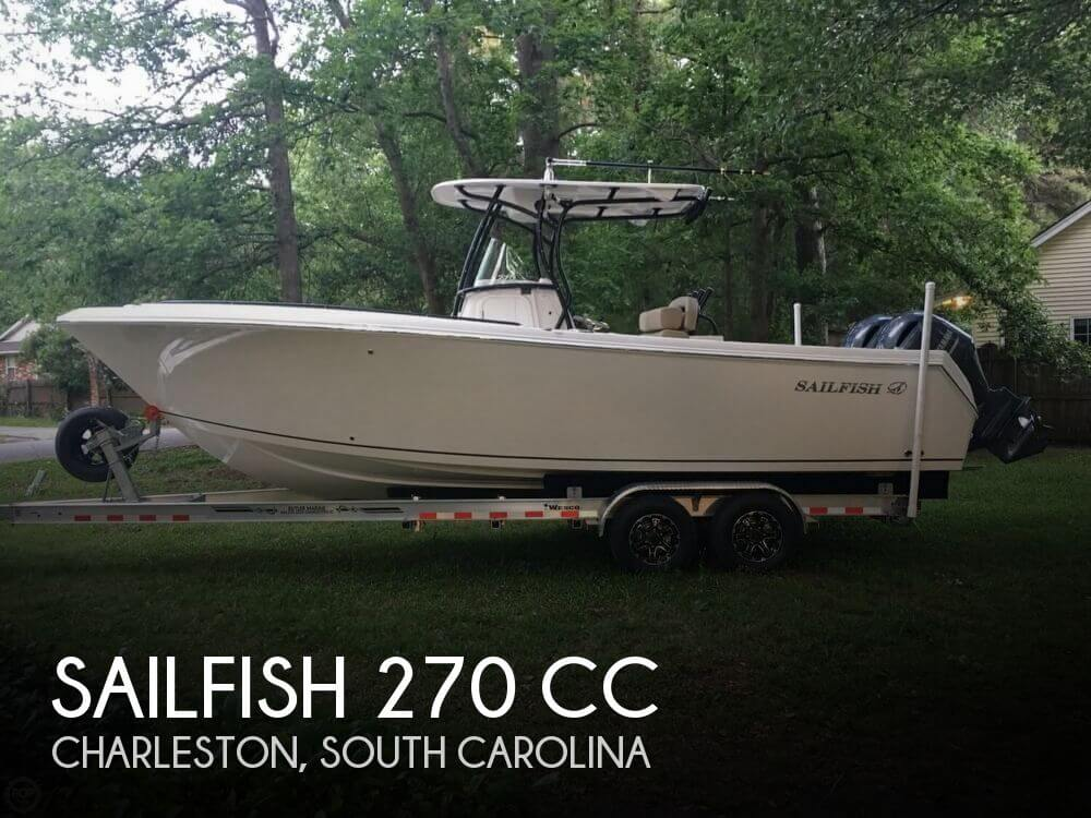 Used Boats For Sale in Savannah, Georgia by owner | 2017 Sailfish 270 CC