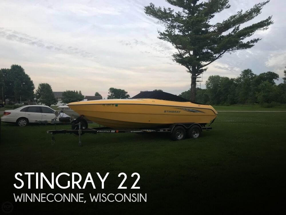 Used Boats For Sale in Wausau, Wisconsin by owner | 2006 Stingray 22