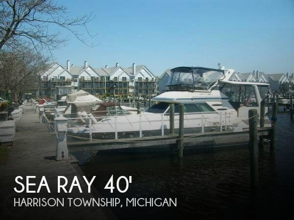 Used Sea Ray Boats For Sale in Michigan by owner | 1987 Sea Ray 40
