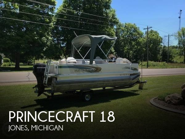 2007 Princecraft boat for sale, model of the boat is 18 & Image # 1 of 10