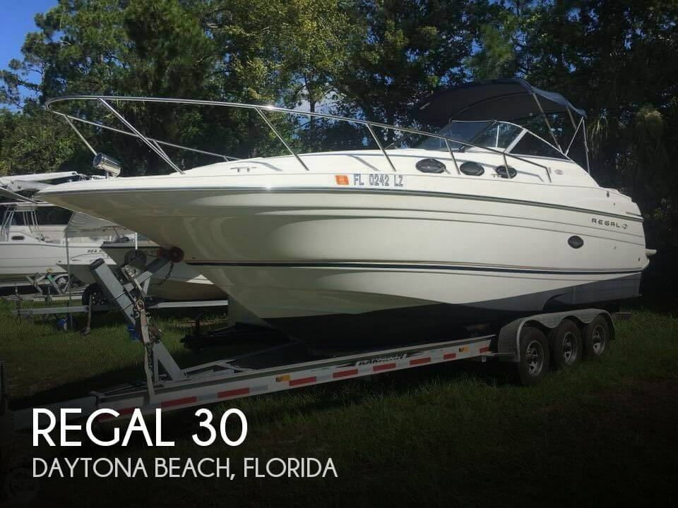 Used Regal Boats For Sale in Florida by owner | 2002 Regal 30