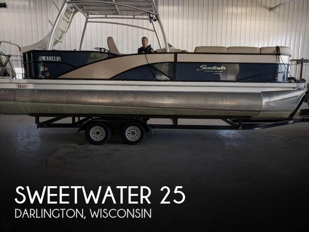 Used Pontoon Boats For Sale by owner | 2016 Sweetwater 25