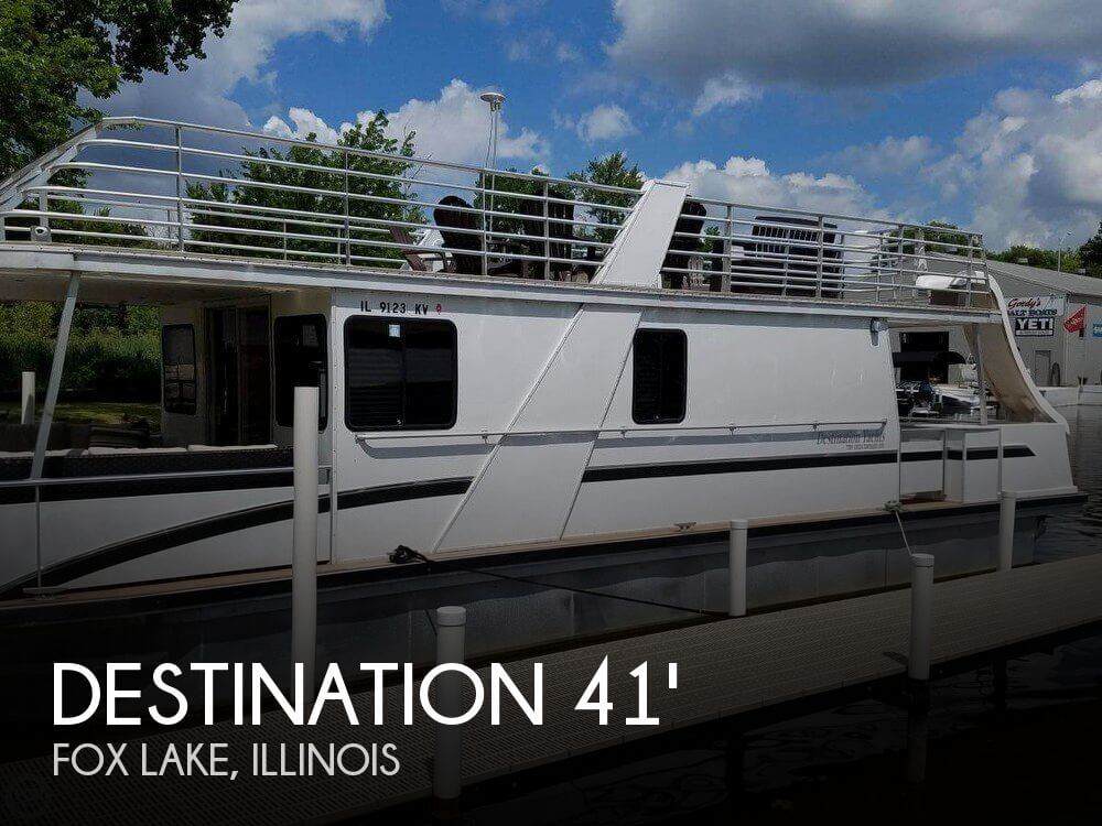 Used Boats For Sale in Rockford, Illinois by owner | 2009 Destination Yacht 41