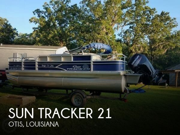 Used Sun Tracker Pontoon Boats For Sale by owner | 2017 Sun Tracker 21