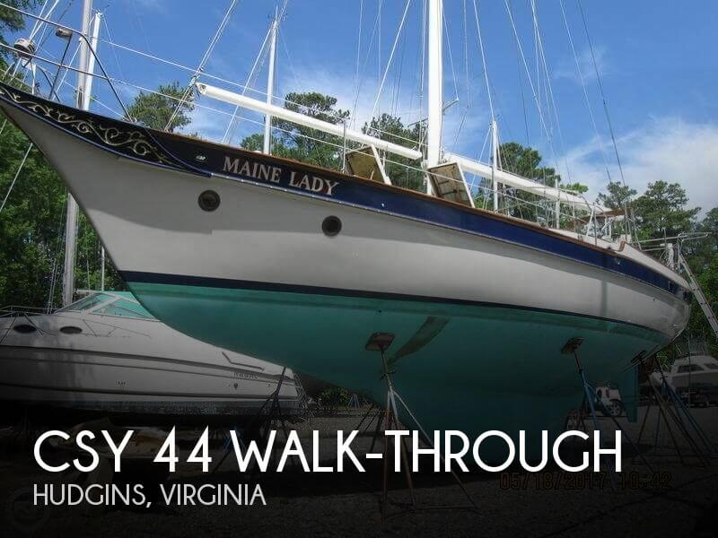 1979 CSY 44 WALK THROUGH for sale