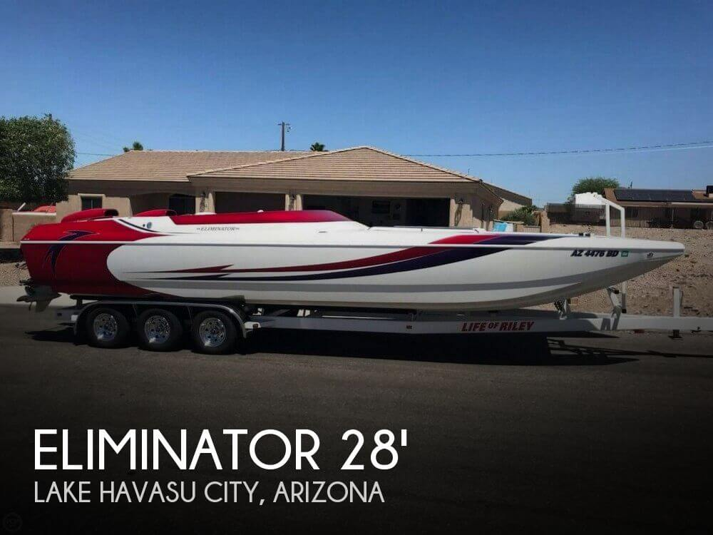 Used Boats For Sale in Arizona by owner | 2001 Eliminator 28