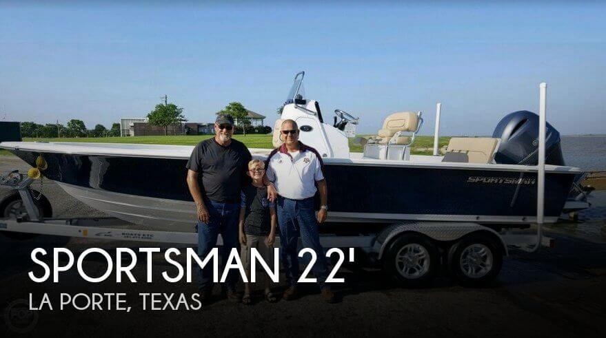 Used Sportsman Boats For Sale by owner | 2016 Sportsman 22