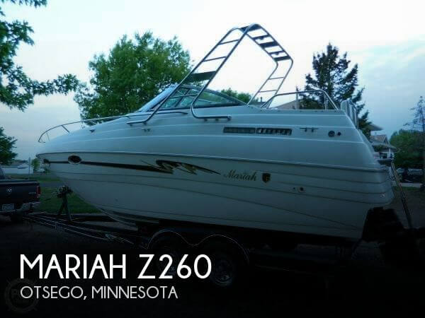 Used Mariah Boats For Sale by owner | 1999 Mariah 26