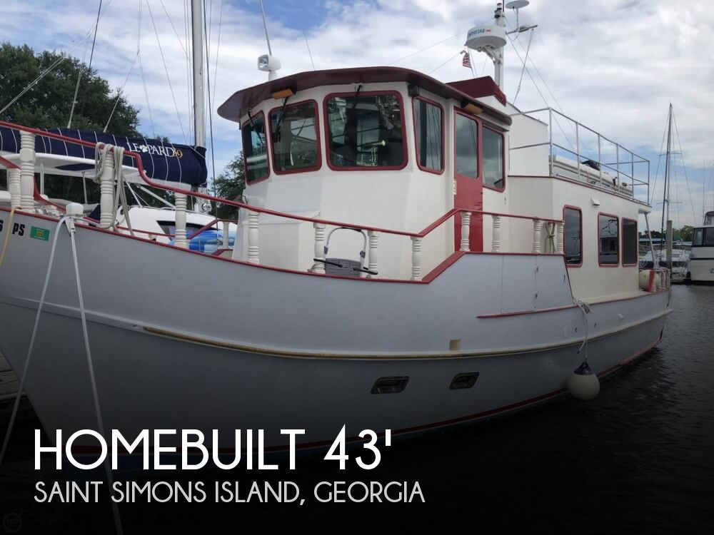 2014 Homebuilt boat for sale, model of the boat is 43 Argosy (Glen-L Design) & Image # 1 of 40