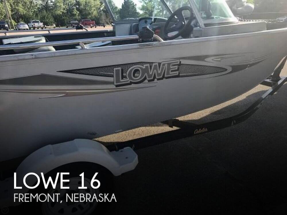Used Boats For Sale in Omaha, Nebraska by owner   2012 Lowe 16