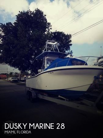 Used Dusky Marine Boats For Sale by owner | 1999 Dusky Marine 28