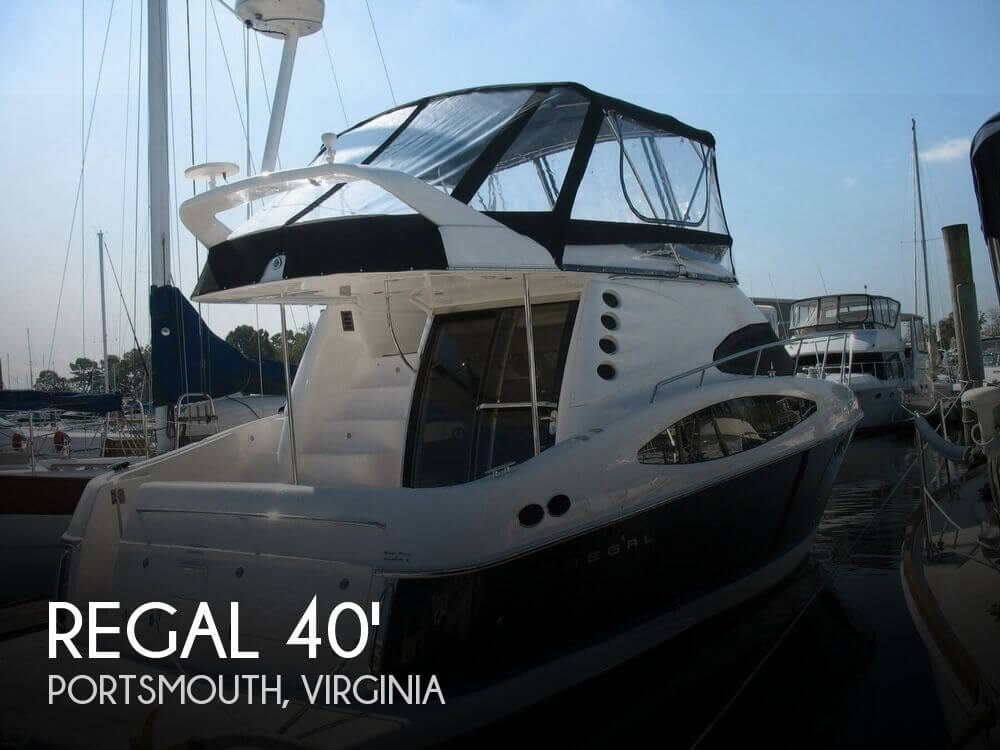 Used Boats For Sale in Virginia Beach, Virginia by owner | 2006 Regal 40