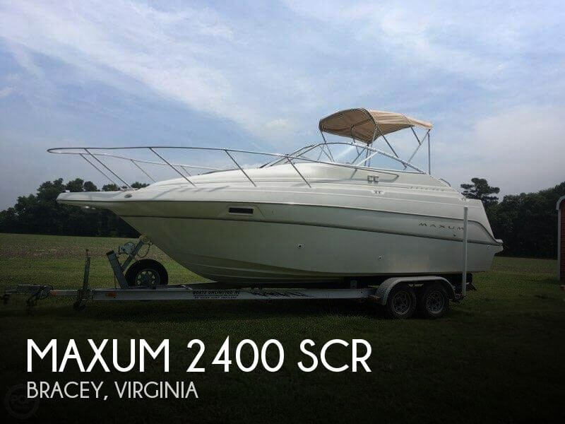 Used Boats For Sale in Lynchburg, Virginia by owner | 2000 Maxum 25