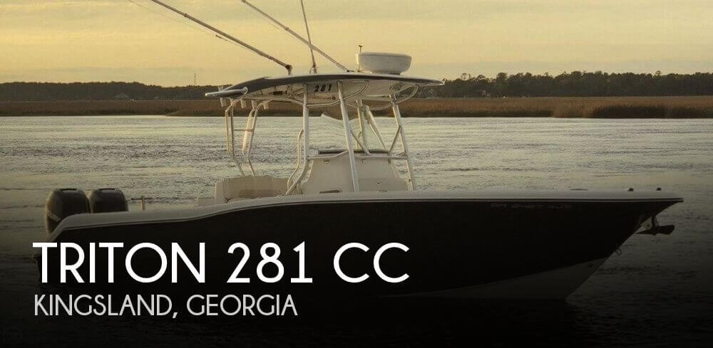 Used Triton  Boats For Sale by owner | 2009 Triton 28