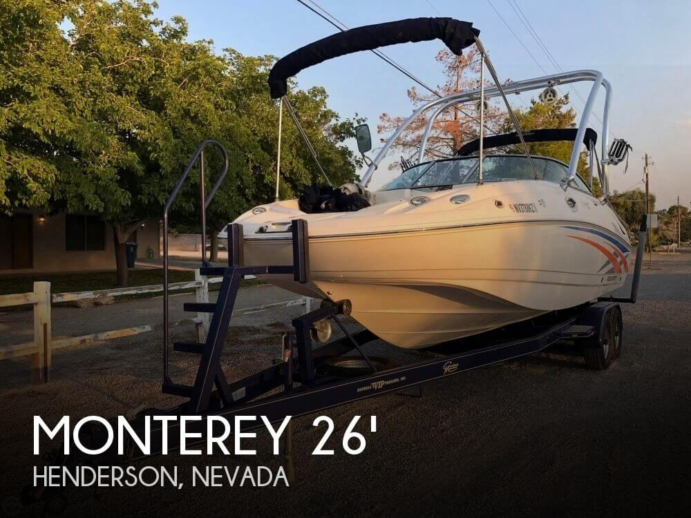 Used Deck Boats For Sale by owner | 2007 Monterey 30