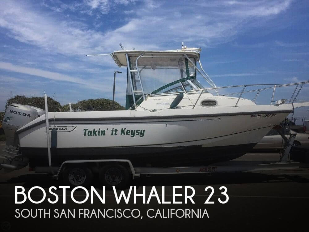 Used Boats For Sale in Santa Cruz, California by owner | 1998 Boston Whaler 23