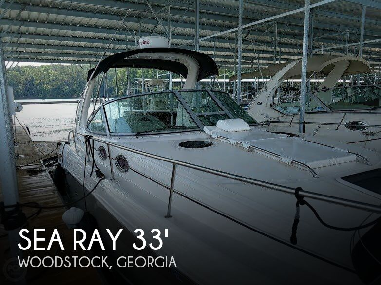 Used Boats For Sale in Atlanta, Georgia by owner | 2006 Sea Ray 33