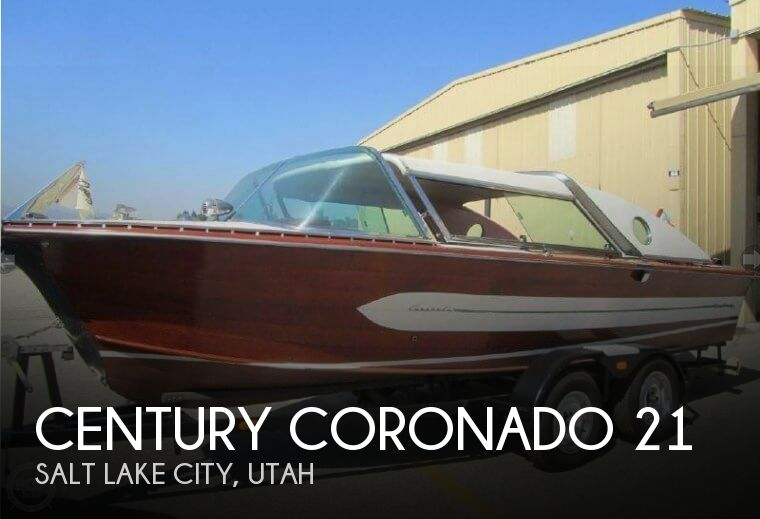 1959 Century boat for sale, model of the boat is Coronado 21 & Image # 1 of 32