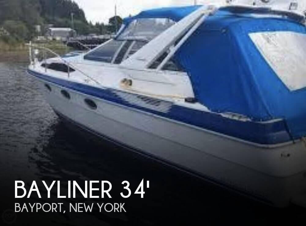 Used Bayliner Boats For Sale in New York by owner | 1988 Bayliner Avanti 3415 Sunbridge