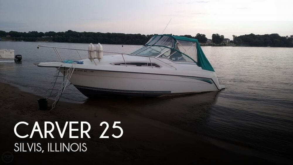 Used Boats For Sale in Peoria, Illinois by owner | 1994 Carver 25
