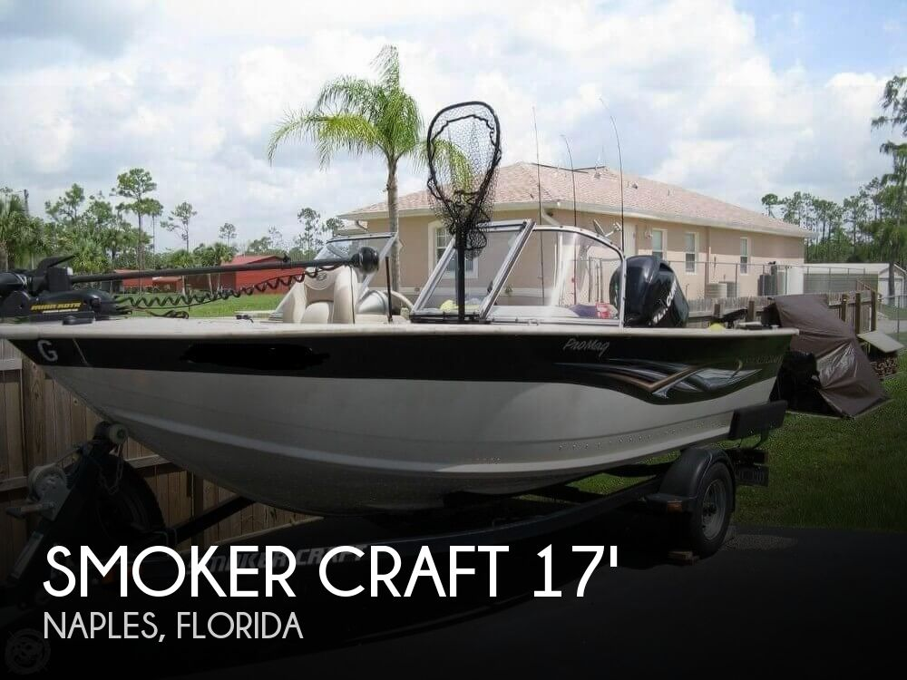 2008 Smoker Craft boat for sale, model of the boat is Pro Mag 172 & Image # 1 of 40
