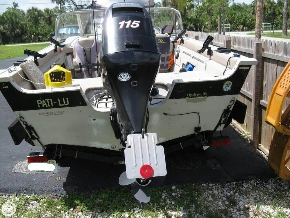 2008 Smoker Craft boat for sale, model of the boat is Pro Mag 172 & Image # 4 of 40