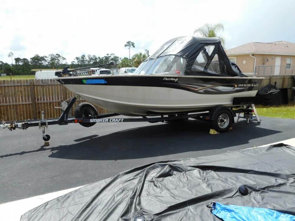 2008 Smoker Craft boat for sale, model of the boat is Pro Mag 172 & Image # 9 of 40