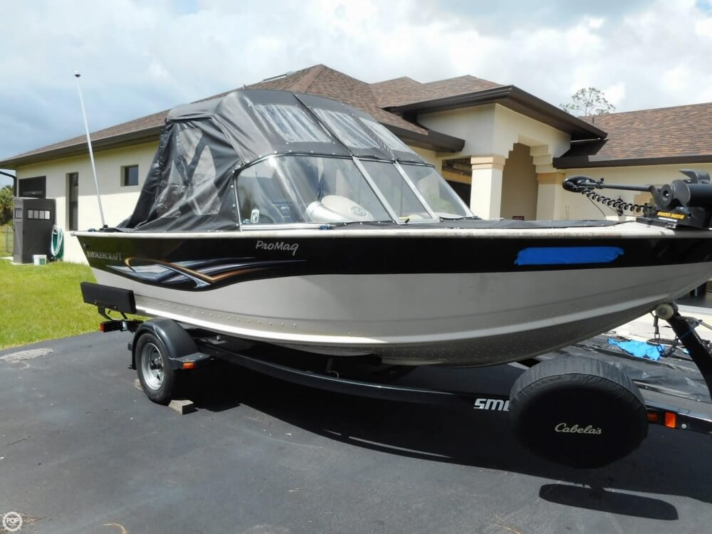 2008 Smoker Craft boat for sale, model of the boat is Pro Mag 172 & Image # 12 of 40