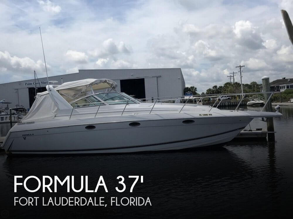 Used Formula Boats For Sale in Florida by owner | 1998 Formula 37