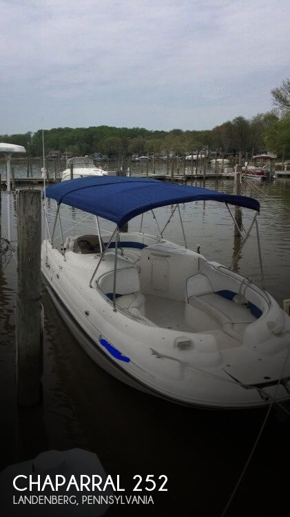 Used Chaparral Boats For Sale in Lancaster, Pennsylvania by owner | 2000 Chaparral 252 Sunesta
