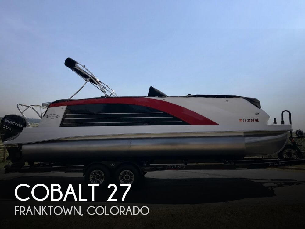 Used Boats For Sale in Denver, Colorado by owner | 2015 Cobalt 27