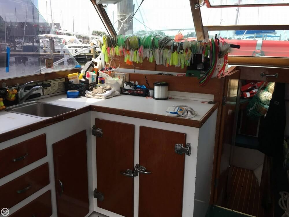 1968 Post Marine boat for sale, model of the boat is 37 & Image # 7 of 40