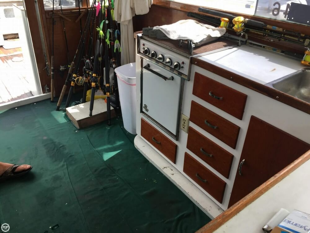 1968 Post Marine boat for sale, model of the boat is 37 & Image # 2 of 40