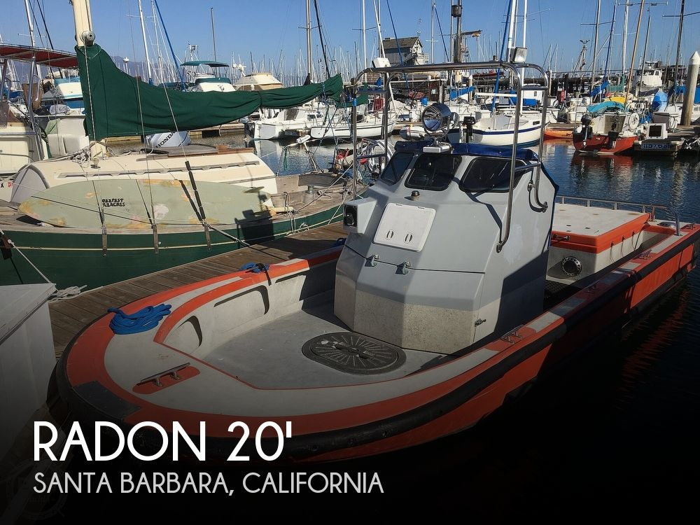 Used Boats For Sale in San Luis Obispo, California by owner | 1983 Radon 20