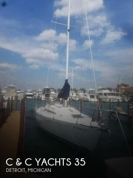 Used Sailboats For Sale in Michigan by owner | 1993 C & C Yachts 35