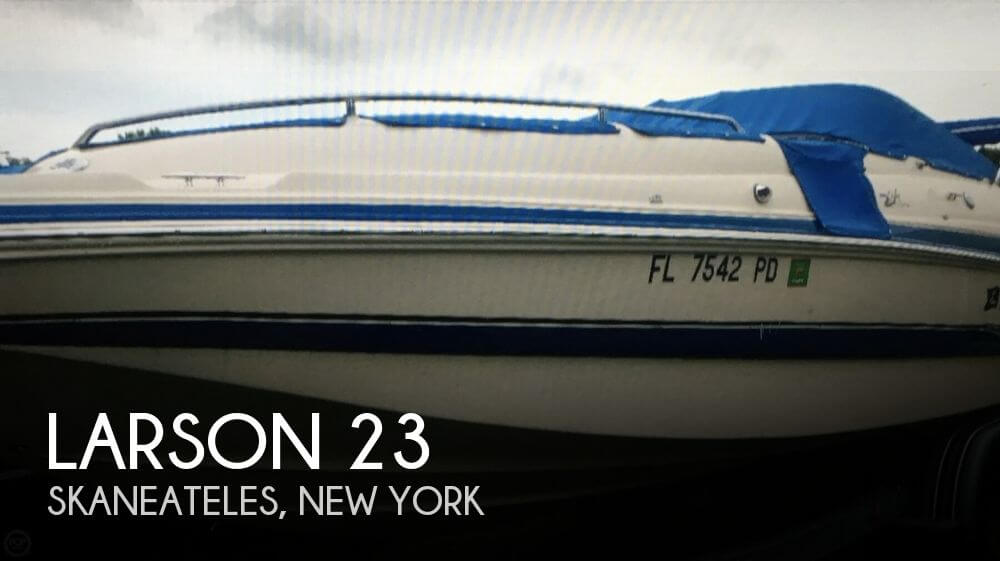 Used Boats For Sale in Binghamton, New York by owner | 2005 Larson 23