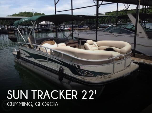 Used Pontoon Boats For Sale in Georgia by owner | 2010 Sun Tracker 22