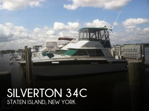 Used Silverton Fishing boats For Sale by owner | 1988 Silverton 34C
