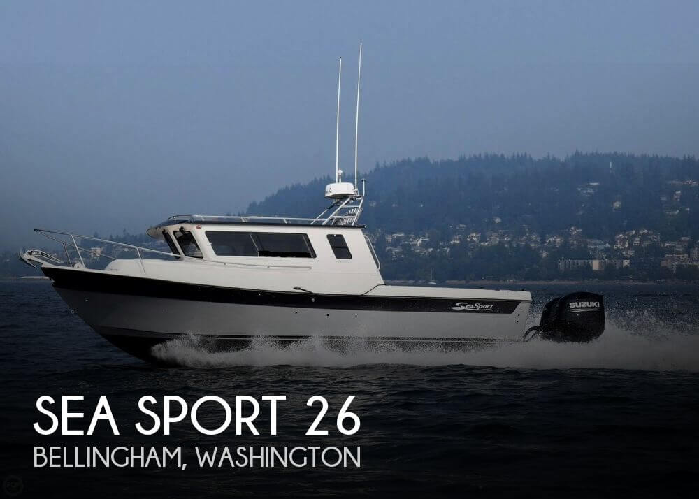 Used Power boats For Sale in Washington by owner   2018 Sea Sport 26