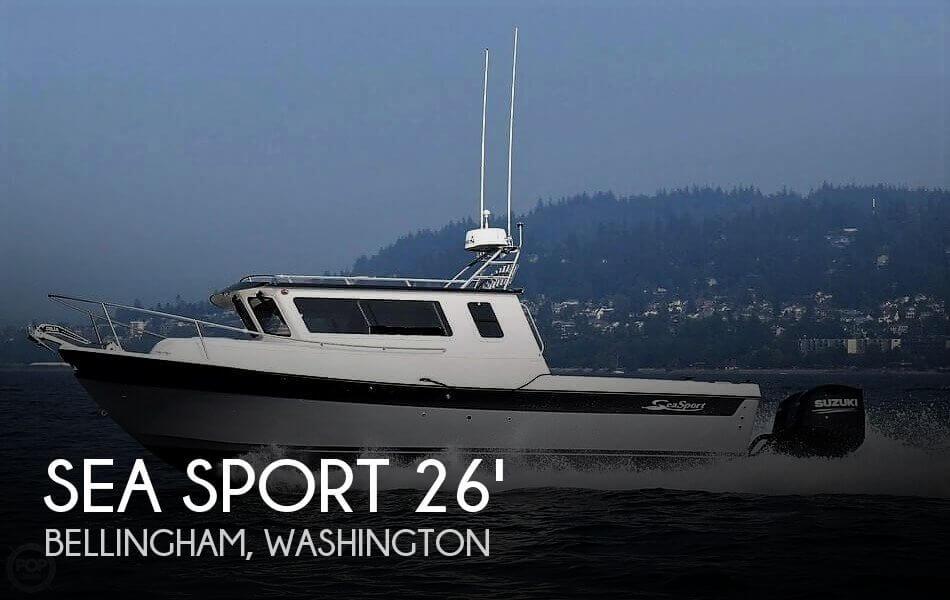 2018 Seasport boat for sale, model of the boat is Kodiak 2600 & Image # 1 of 40