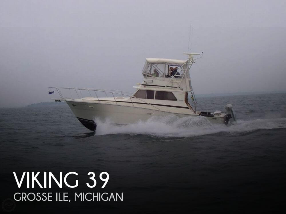 Used Fishing boats For Sale in Michigan by owner | 1984 Viking 39