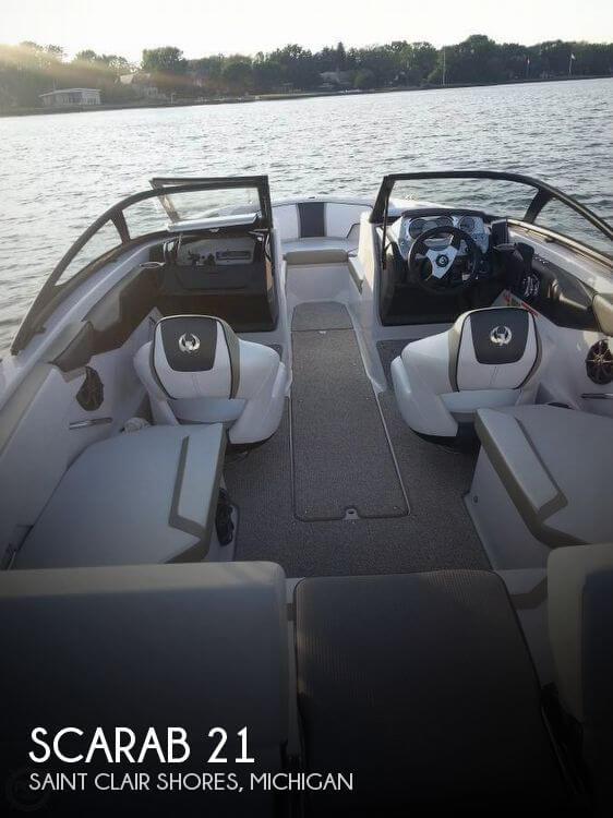 Used Ski Boats For Sale in Michigan by owner | 2014 Scarab 21