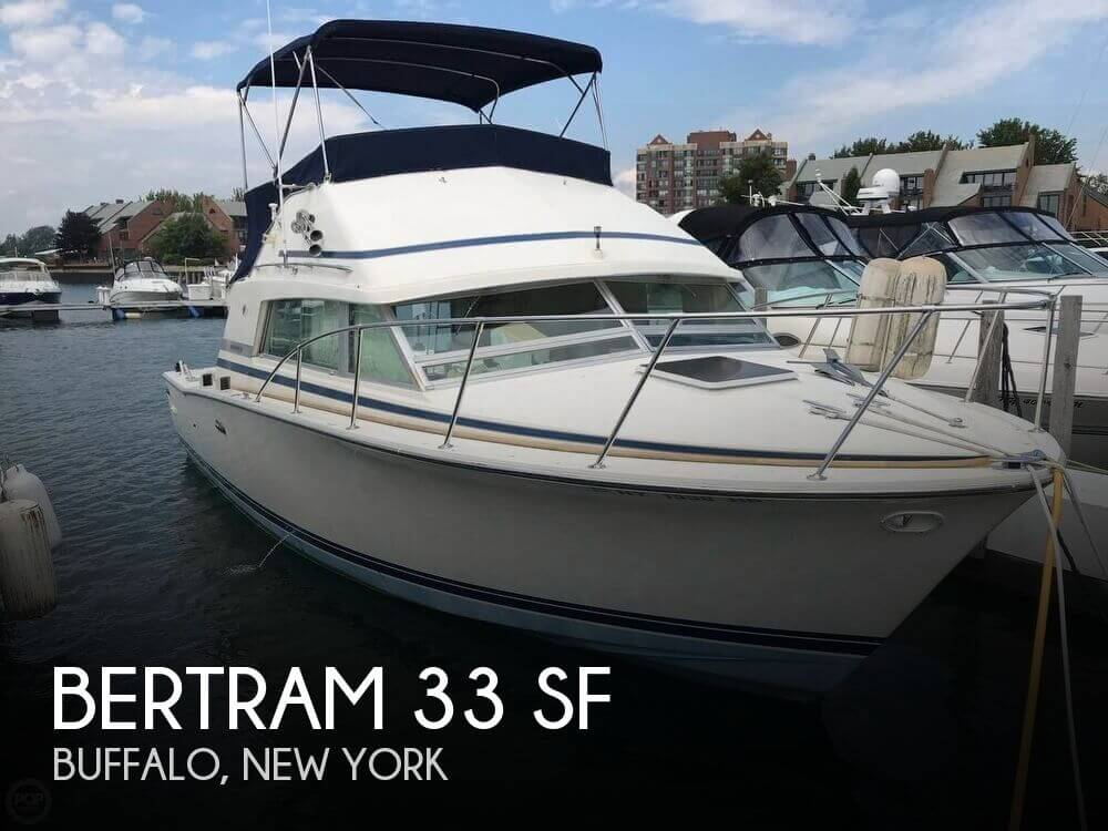 Used Boats For Sale in Buffalo, New York by owner | 1986 Bertram 33
