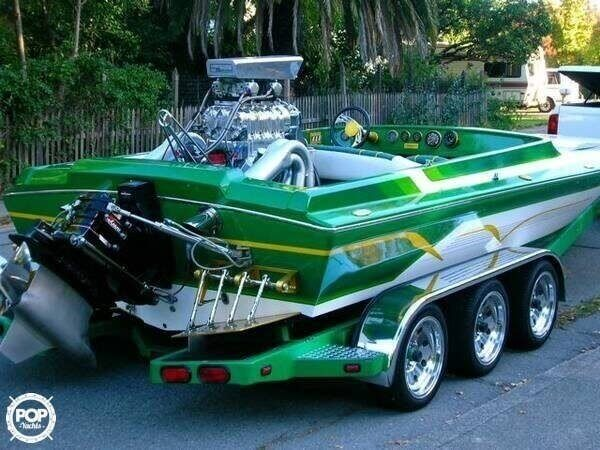 1995 Hallett boat for sale, model of the boat is 21 Vector & Image # 2 of 40