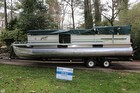 2000 Crest Pontoon Boat - 22 Sport Model