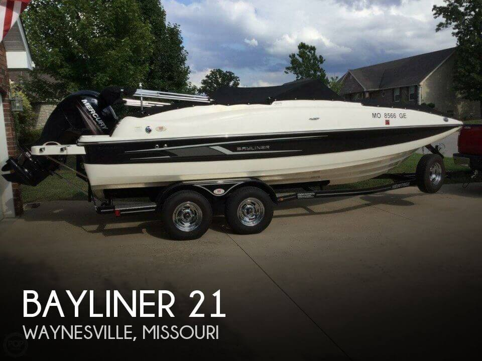 Used Bayliner Deck Boats For Sale by owner | 2014 Bayliner 21