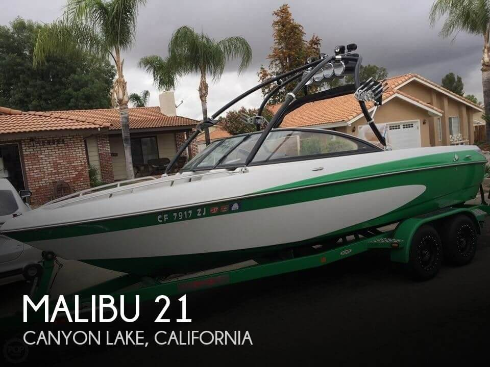 Used MALIBU Boats For Sale in California by owner | 2005 Malibu 21