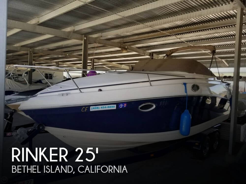 Used Rinker Boats For Sale in Sacramento, California by owner | 2005 Rinker 250 Fiesta Vee