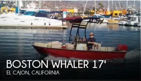 1976 Boston Whaler 17 Montauk