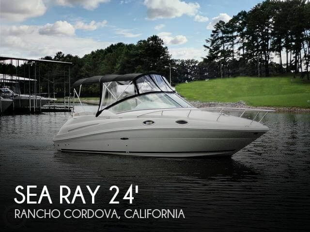 Used Sea Ray Boats For Sale in California by owner | 2007 Sea Ray 24
